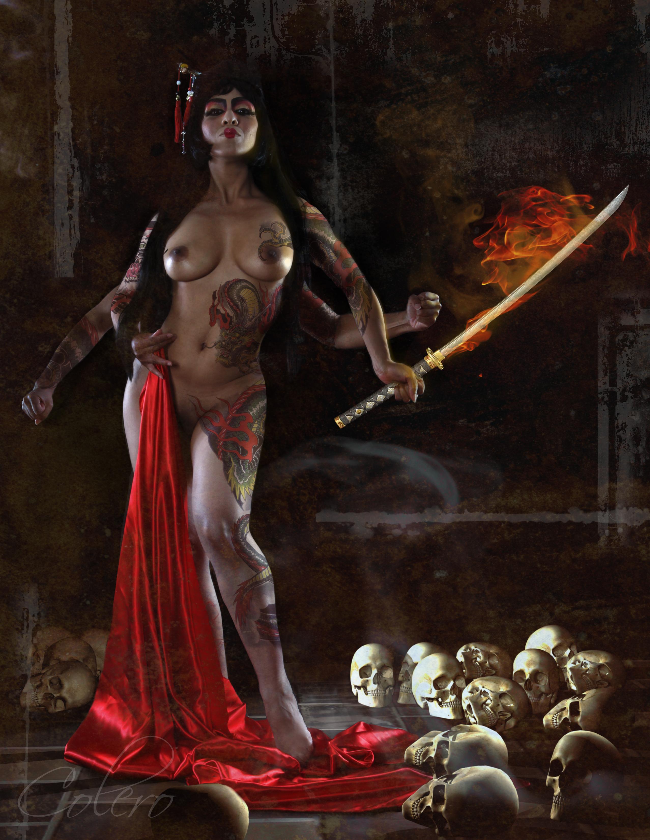 Demon warrior nude pic hentay scenes